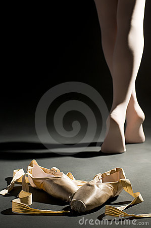 Free Ballet Schoes Royalty Free Stock Photography - 4948717