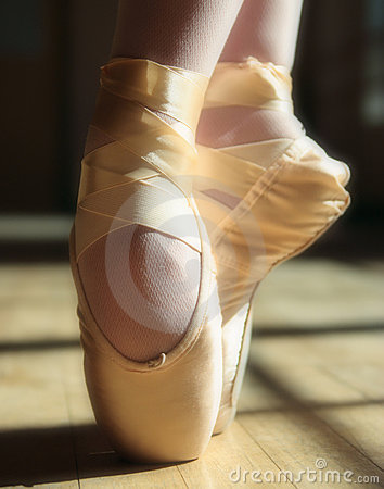 Free Ballet Shoes Stock Photo - 1598530