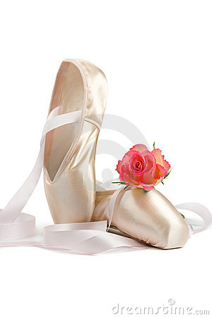 Free Ballet Shoes Stock Photo - 4512370