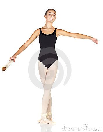 Free Ballet Steps Stock Image - 8666601