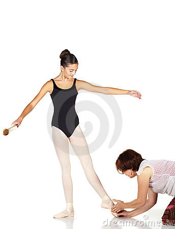 Free Ballet Steps Stock Photography - 8679052