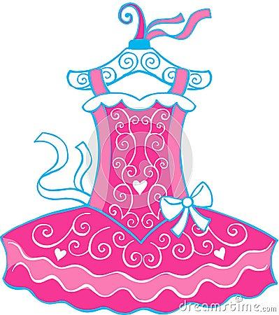Ballet Tutu Illustration