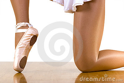Ballet Workout On One Knee