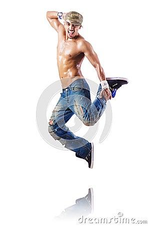 Balli di dancing del ballerino