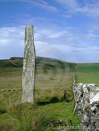 Ballinaby Standing Stone, Isle of Islay, Scotland
