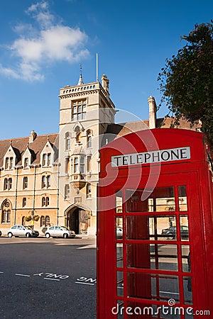 Balliol College. Oxford, England