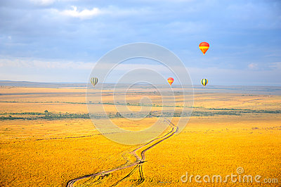 Ballon à Air Chaud Images stock - Image: 26440164