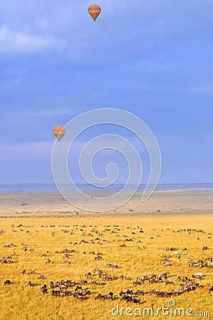 Ballon à air chaud