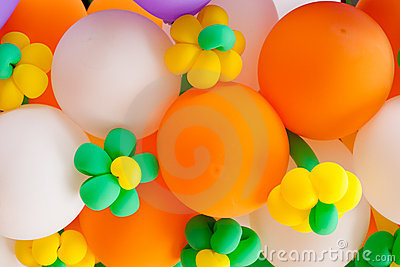 Ballon colorful