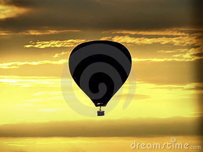 Ballon sunrise