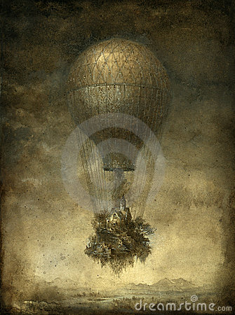 Ballon Surréaliste Photo libre de droits - Image: 21874215
