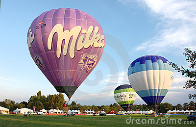 Ballons, hot air ballons festival Editorial Photography
