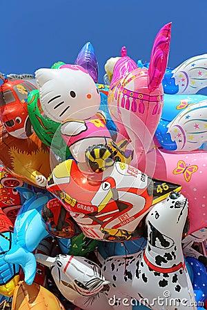 Balloon Bouquet Editorial Photo