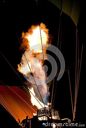 Balloon burner