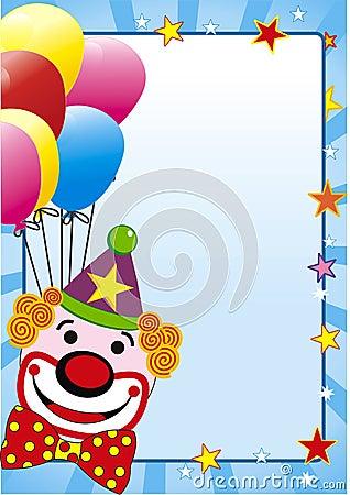 Balloon and clown
