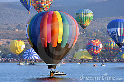 Balloon Festival Editorial Stock Image