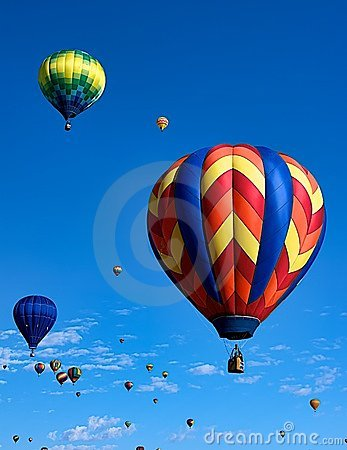 Free Balloon Festival Royalty Free Stock Image - 21601696