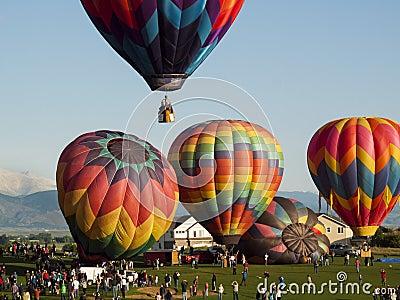 Balloon Festival Editorial Image
