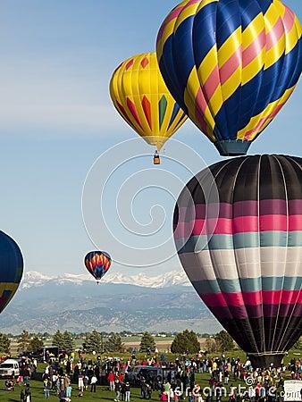 Balloon Festival Editorial Stock Image