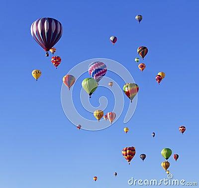Free Balloon Fiesta Royalty Free Stock Photo - 27191065