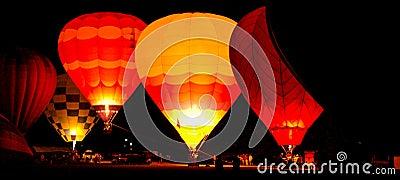 Balloon Glow, Albuequerque, NM Editorial Stock Image ...