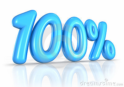 Balloon One Hundred Percent