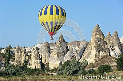 Balloon Over Fairy Chimneys