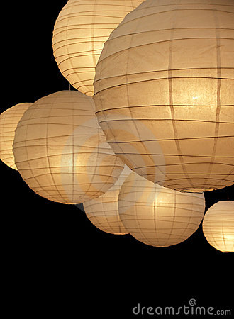 Free Balloon Paper Lamps Stock Photos - 1994373