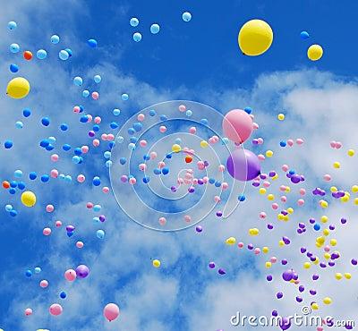 Free Balloons Royalty Free Stock Photos - 16083688
