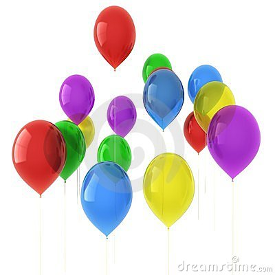 Free Balloons Royalty Free Stock Photos - 18152738