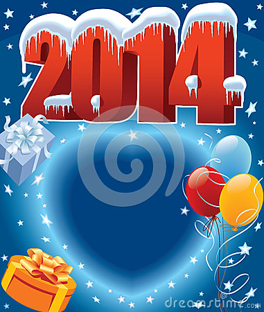 Free Balloons 2014 Stock Images - 33461004