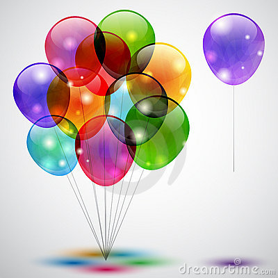 Free Balloons Royalty Free Stock Photography - 20245577