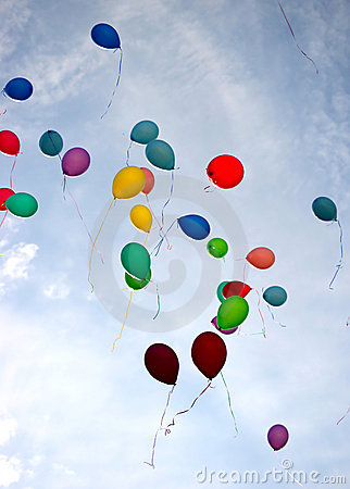 Free Balloons Royalty Free Stock Photos - 6613858