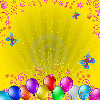 Free Balloons And Butterflies Royalty Free Stock Photo - 20154305