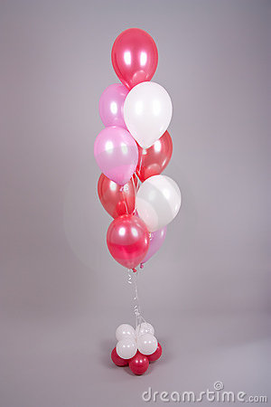 Balloons arrangement