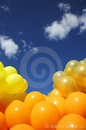 Free Balloons Background Stock Photography - 16845892