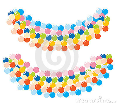 Balloons-Banner for decoration