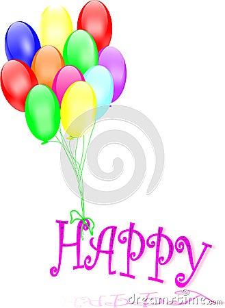 Balloons bring happiness