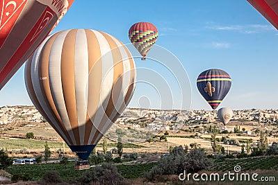 Balloons in Cappadocia Editorial Image