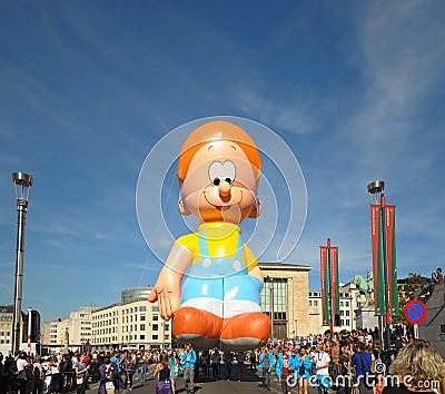 Balloons Day Parade 2012 Editorial Photo