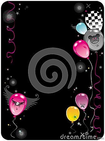 Balloons Emo composition 2