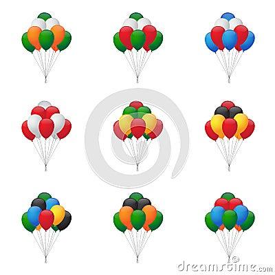 Balloons groups