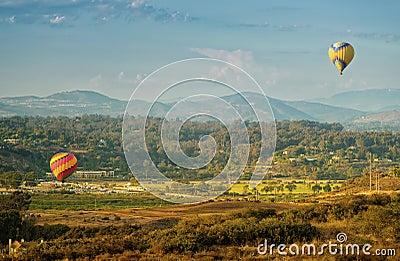 Balloons Lift Off, Del Mar, California