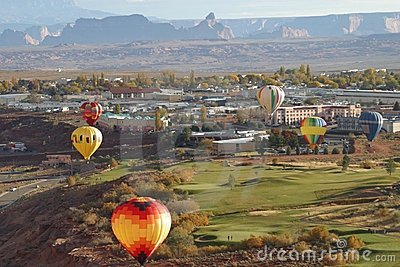 Balloons over Page