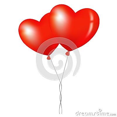 Balloons. Vector