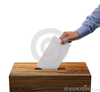 Free Ballot Box Stock Photography - 35044202