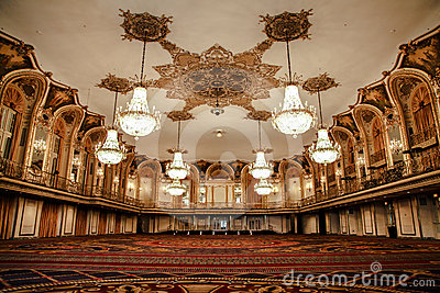 Ballroom of the Conrad Hilton - Chicago Editorial Stock Image