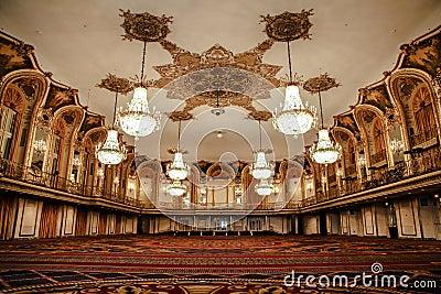 Ballroom of the Conrad Hilton - Chicago Editorial Stock Image