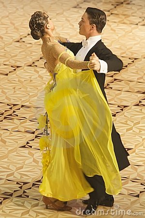 Ballroom Dance Contest Editorial Image
