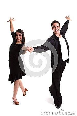 Ballroom Dancers Black 02